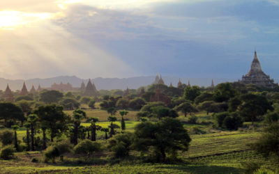 005 Sunrise over Bagan