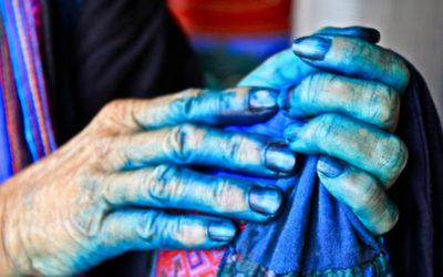 007 Dyed hands Vietnam