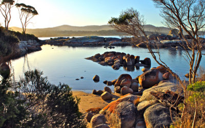 011 Coastal Tasmanian sunset