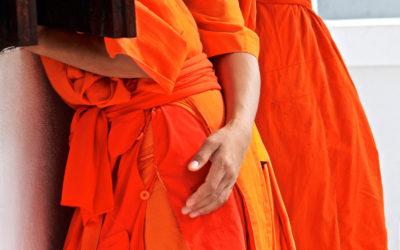 012 Monks brotherhood Laos