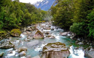 014 Glacial river New Zealand