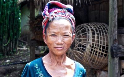 015 Village matriach Laos