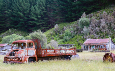 024 Deserted farm truck