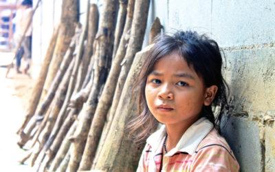026 Village girl Laos