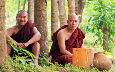 030 Village monks Myanmar