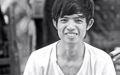 011 Street vendor Laos