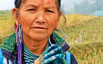 025 Dyed blue in Vietnam