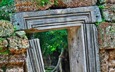 023 Doorway to history Cambodia